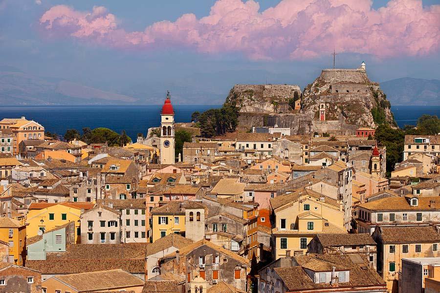 CORFU TOWN - MON REPO TOUR - Corfu Excursions Tours